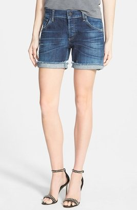 Women's Citizens Of Humanity 'Skyler' Low Rise Denim Shorts $188 thestylecure.com