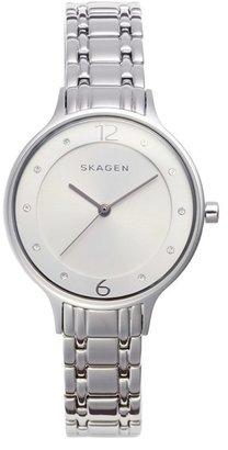 Women's Skagen 'Anita' Crystal Index Bracelet Watch, 30Mm $135 thestylecure.com