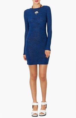 Topshop Textured Body-Con Dress