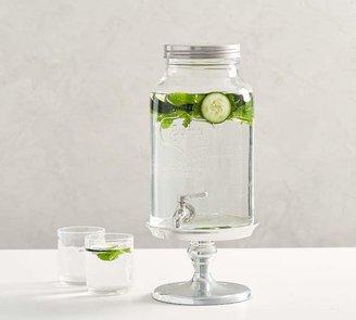 Pottery Barn Mason Jar Glass Drink Dispenser