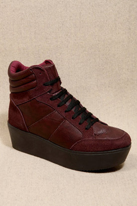 Burgundy Scooter Trainers