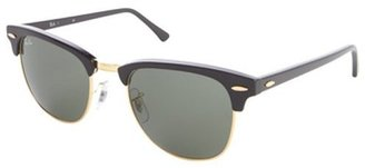 Ray-Ban black acrylic 'Clubmaster' 51mm sunglasses