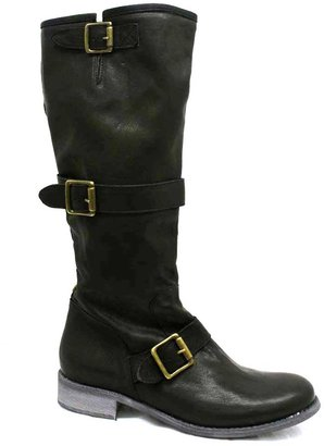 "Cordani Plymouth"" Black Leather Boot"