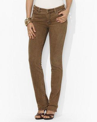 Lauren Ralph Lauren Slimming Modern Straight Jeans