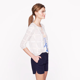 J.Crew Scalloped short