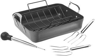 Calphalon Classic Hard-Anodized Nonstick Roaster and Rack