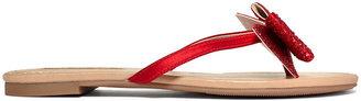INC International Concepts Women's Shoes, Mae Flat Sandals