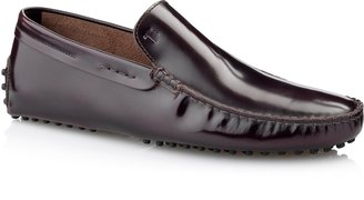 Tod's Gommino Leather Moccasin Loafers