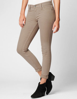 True Religion Womens Halle Overdye Color Skinny Jean