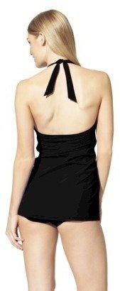 Sara Blakely ASSETS® By A Spanx® Brand Women's 1-Piece Swim Dress -Blue