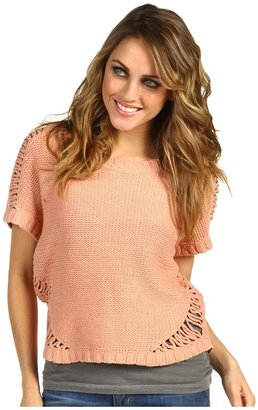 Kensie Rope Sweater (Nectar) - Apparel