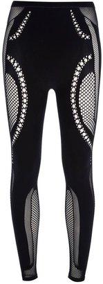 McQ by Alexander McQueen mesh panel leggings