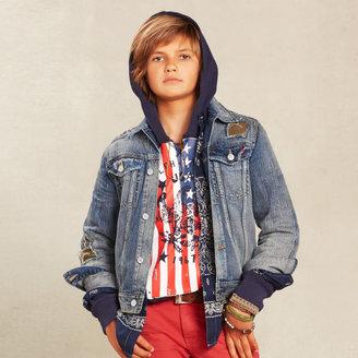 Ralph Lauren Camo Cotton Trucker Jacket