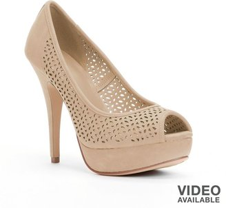 Apt. 9 peep-toe platform high heels - women