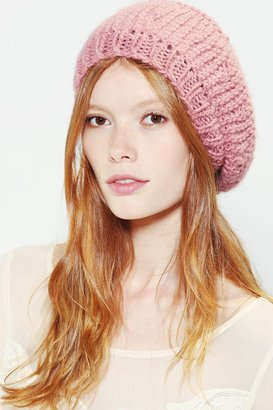 Urban Outfitters Pins And Needles Star Crochet Beret