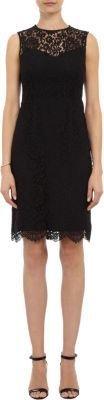Barneys New York Lace Sheath Dress
