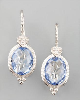 Judith Ripka Blue Drop Earrings