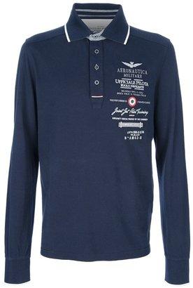 Aeronautica Militare military polo shirt