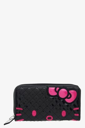Hello Kitty Loungefly Black & Pink Face Wallet