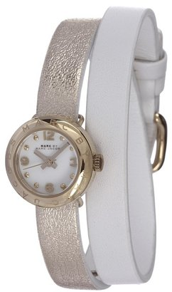 Marc by Marc Jacobs MBM1255 - Amy Double Wrap (White) - Jewelry