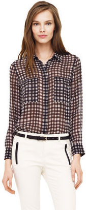 Club Monaco Tabi Plaid Shirt