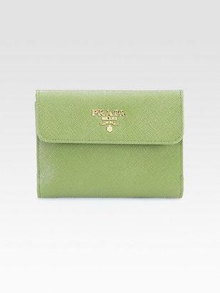 Prada Saffiano Leather Wallet