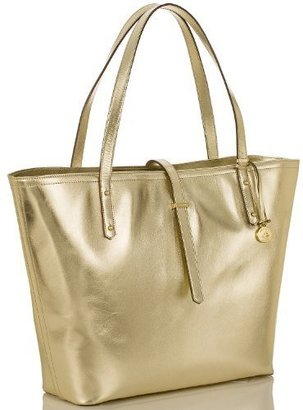 Brahmin All Day Tote Smooth Gold
