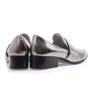 3.1 Phillip Lim Quinn metallic leather loafers