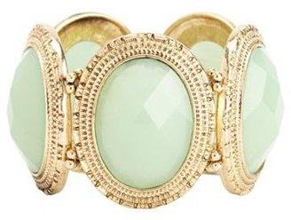 Charlotte Russe Oversized Stone Stretch Bracelet