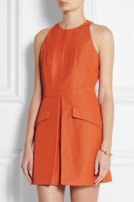 McQ by Alexander McQueen Cotton-blend mini dress