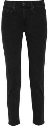 Vince Relaxed Rolled mid-rise cropped skinny jeans