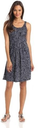 Mod-O-Doc Women's Blosson Dot Pleated Tank Dress