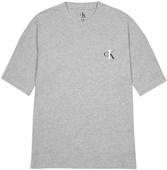 Calvin Klein One Grey Stretch-cotton T-shirt