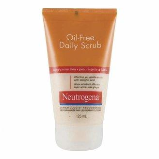 Neutrogena Oil Free Acne Wash Scrub 125 mL