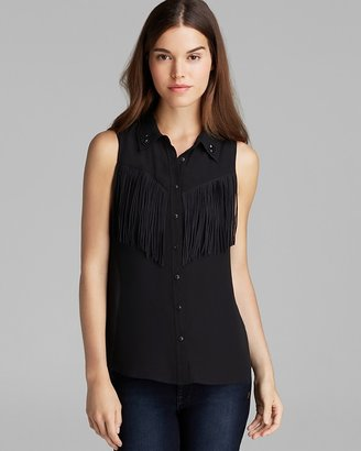 GUESS Top - Western Fringe