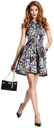 GUESS by Marciano Butterfly-Print Dress