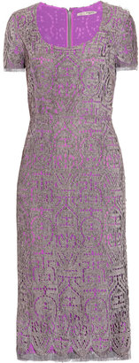 Ports 1961 Chenille-lace dress
