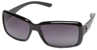 Dorothy Perkins Black bling detail sunglasses