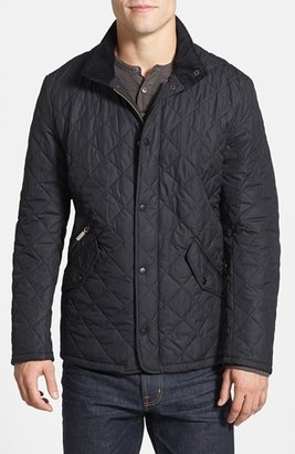 Men's Barbour 'Chelsea' Regular Fit Quilted Jacket $229 thestylecure.com