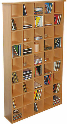 CD Storage Unit - Oak