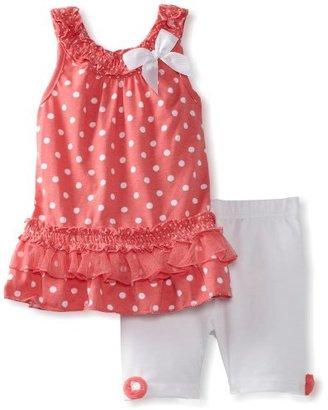 Little Lass Girls 2-6X Two-Piece Dress Set