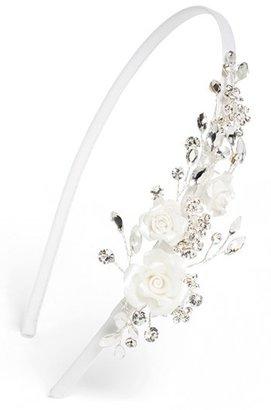 WEDDING BELLES NEW YORK Rosette Headband (Girls)