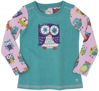 Hatley Graphic Tee (Toddler/Kid) - Party Owls-2