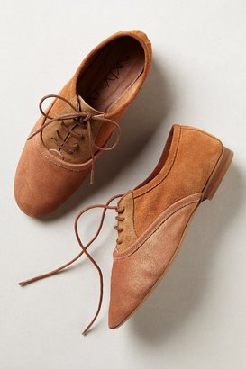 Anthropologie Lacy Colorblock Oxfords