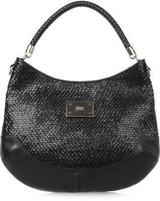Anya Hindmarch Jethro woven leather shoulder bag