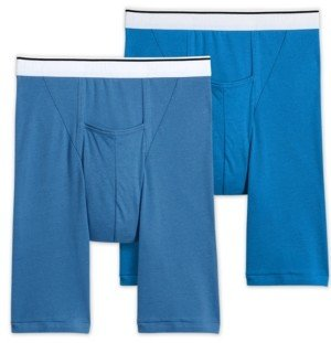Jockey Men's Pouch Midway Boxer Briefs 2-Pack