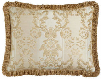 Austin Horn Collection King Chenille Sham with Loop Fringe