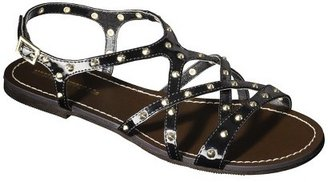 Mossimo Women's Leonore Flat Sandal - Black
