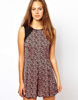 Pepe Jeans Animal Print Dress - Multi
