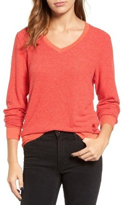 Women's Wildfox V-Neck Pullover $88 thestylecure.com